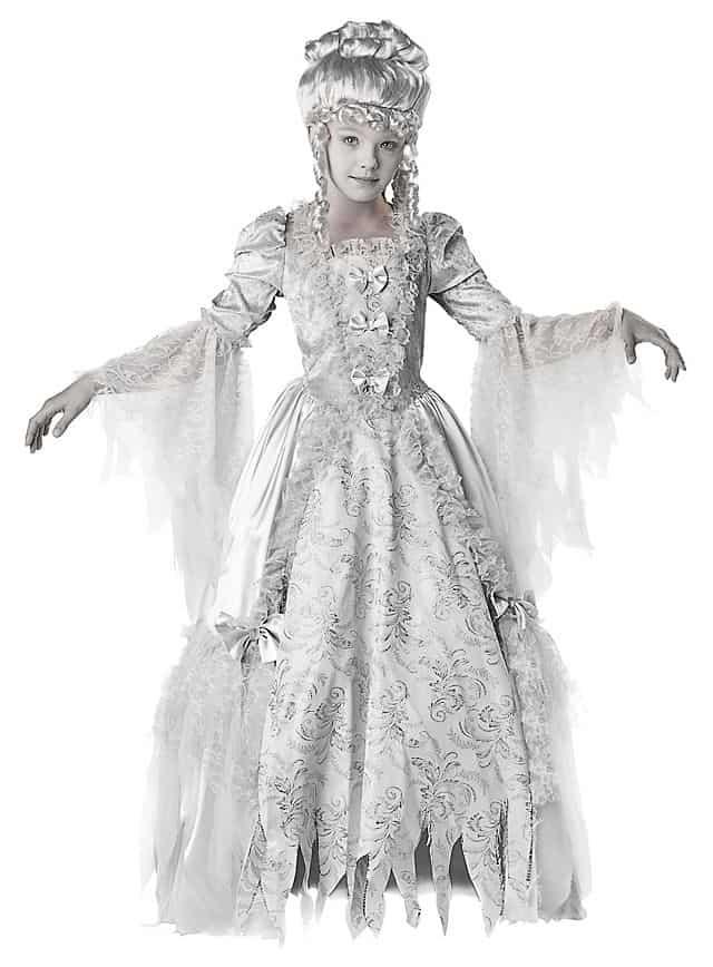 Halloween Kostüm für Kinder - die Geistergräfin