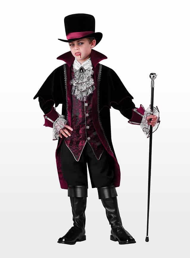 Gentleman Vampir Halloween Kinderkostüm