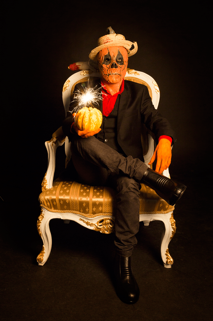 Happy Halloween 2014 - Kürbiskönig mit Kürbisbombe