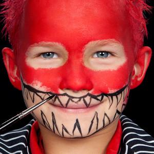 Halloween Monster Kinderschminken
