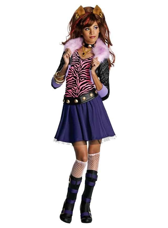 Monster High Halloween Kostüm Mdchen