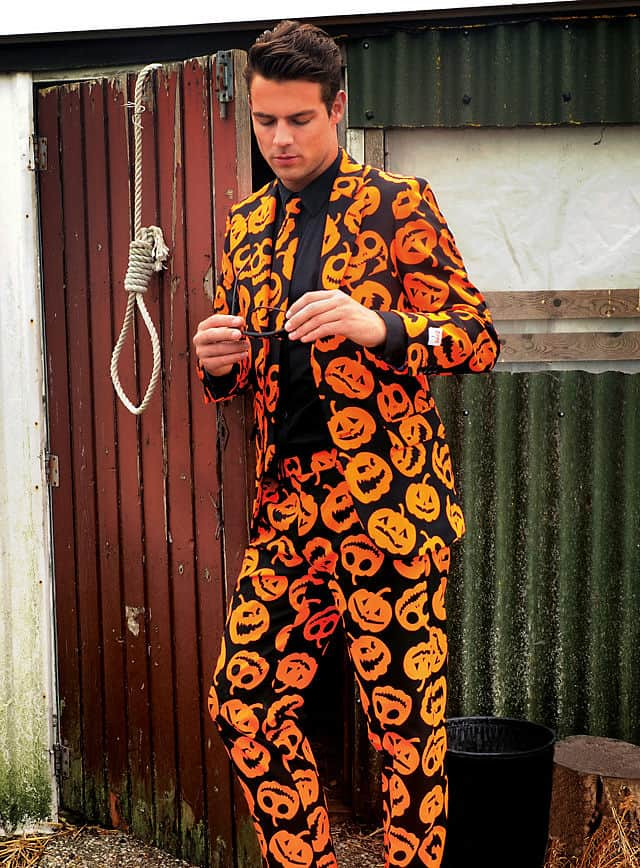Opposuit Kürbis Halloween Anzug