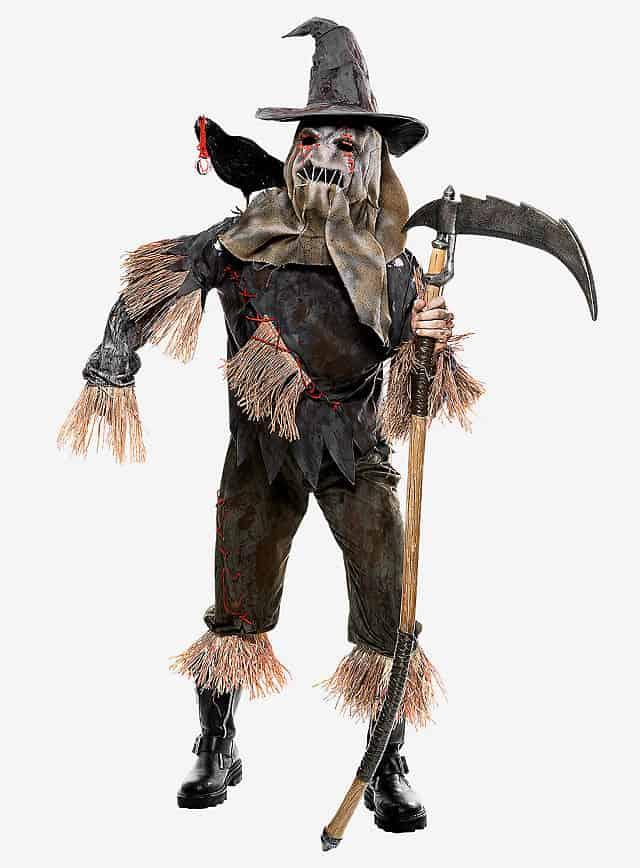 Vogelscheuche Halloween Kostüm