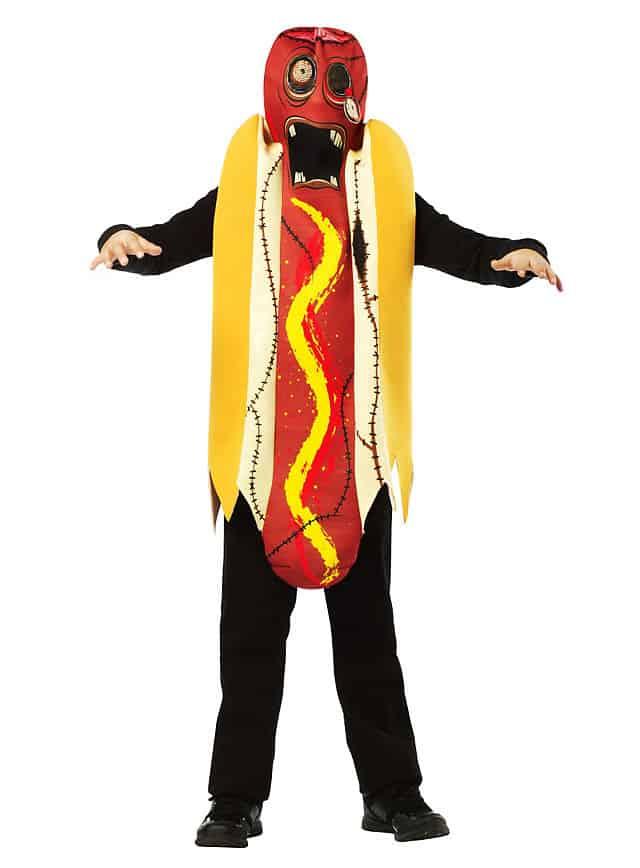Zombie Hotdog Kinderkostüm