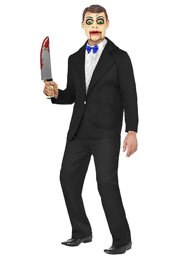 Bauchredner Puppe Halloween Kostüm