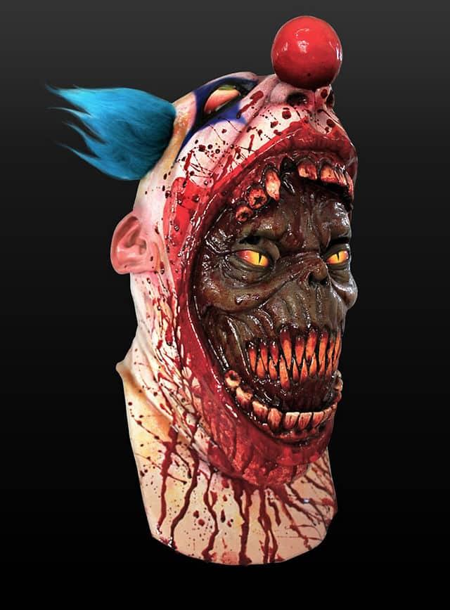 Clown Halloween Maske Parasit