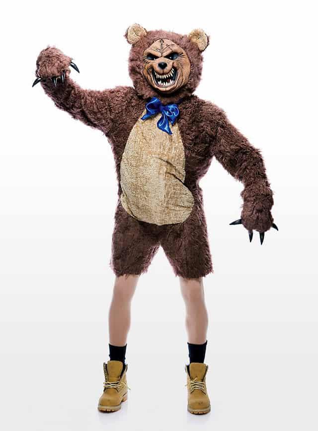 Teddybär Halloween Kostüm