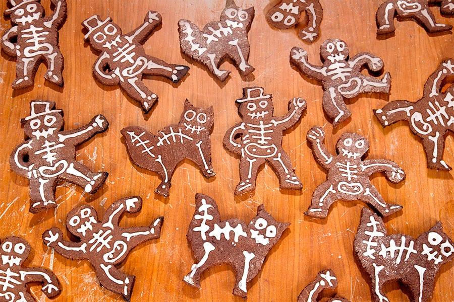 Halloween Rezept Plätzchen Kekse backen