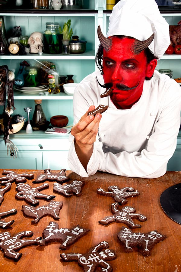 Halloween Rezept : Kekse sind fertig