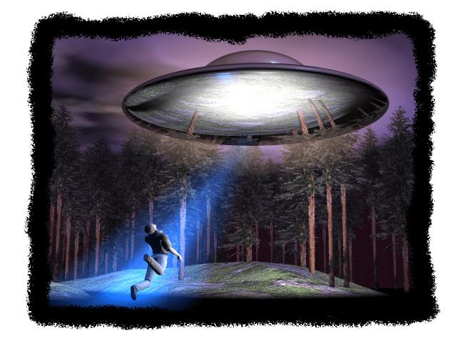 Alien Entführung - Beispielhafte Darstellung einer Entführung durch Außerirdische | Quelle: Wikipedia |http://en.wikipedia.org/wiki/Alien_abduction#mediaviewer/File:Walton%28reconstitution%29.png