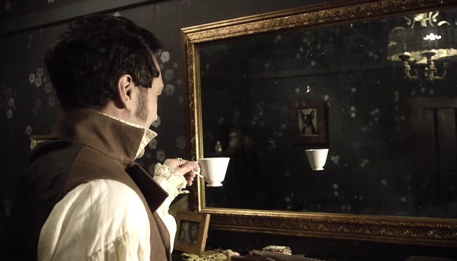 Ein Vampir hat kein Spiegelbild