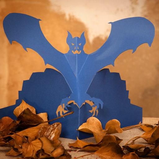 Halloween-Tischdekoration-Fledermaus-Ergebnis1