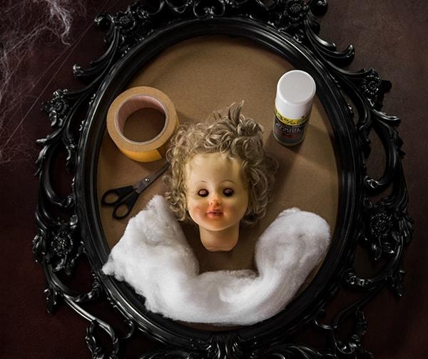Halloween Dekoration Selber Machen Gruseliges Geisterbild