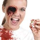 Blutiges Auge Halloween Effect