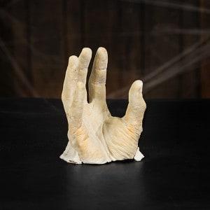 Halloween Deko Zombie Hand im Blumentopf (12)