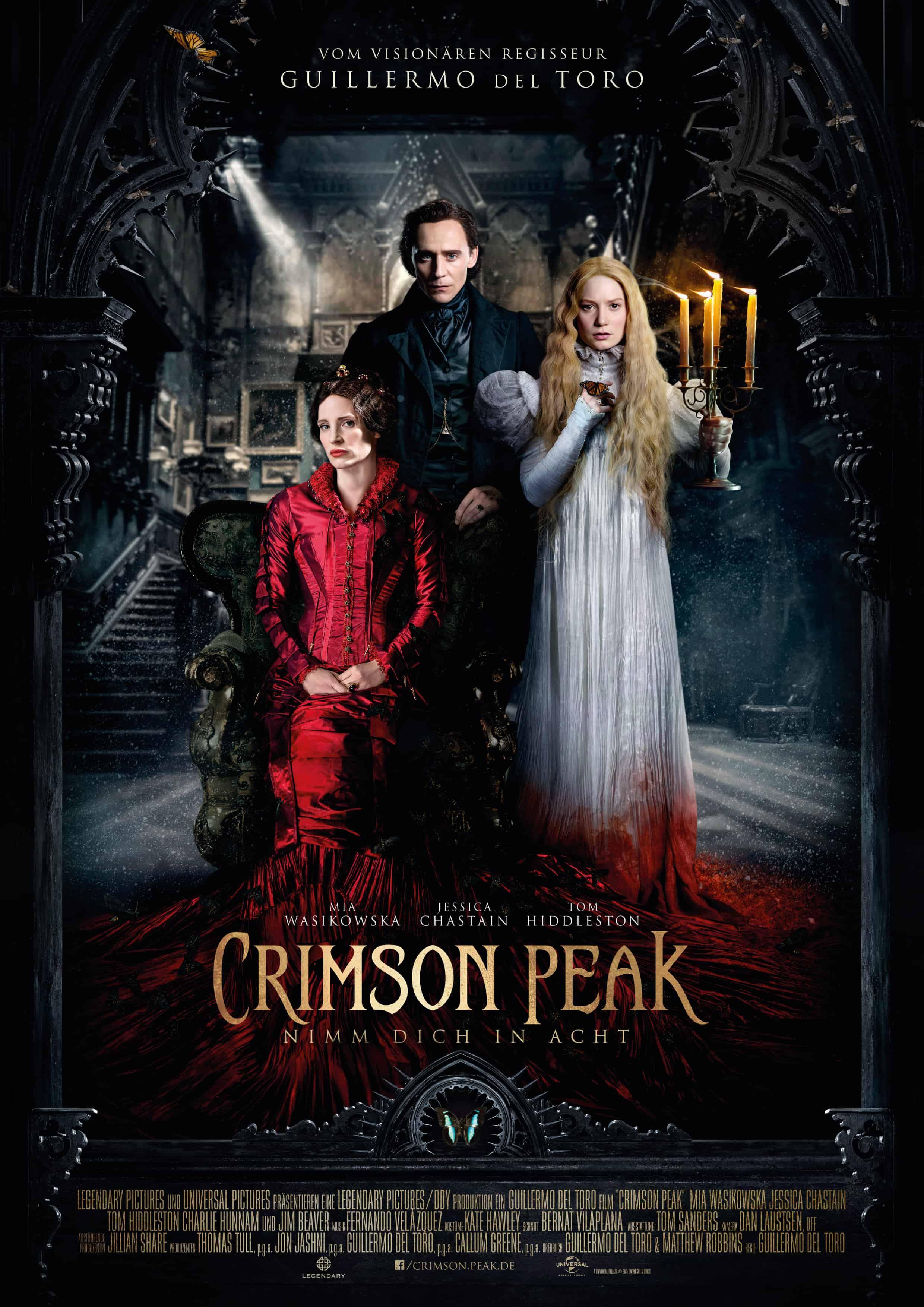 Crimson Peak Hauptplakat