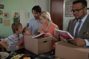 Evan, Frau und Kinder: eine Bilderbuch-Familie! Ach ja: Sein Freund Louis nicht zu vergessen. ©Universum Film