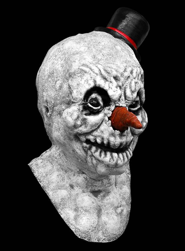 Horrormaske Horror Schneemann
