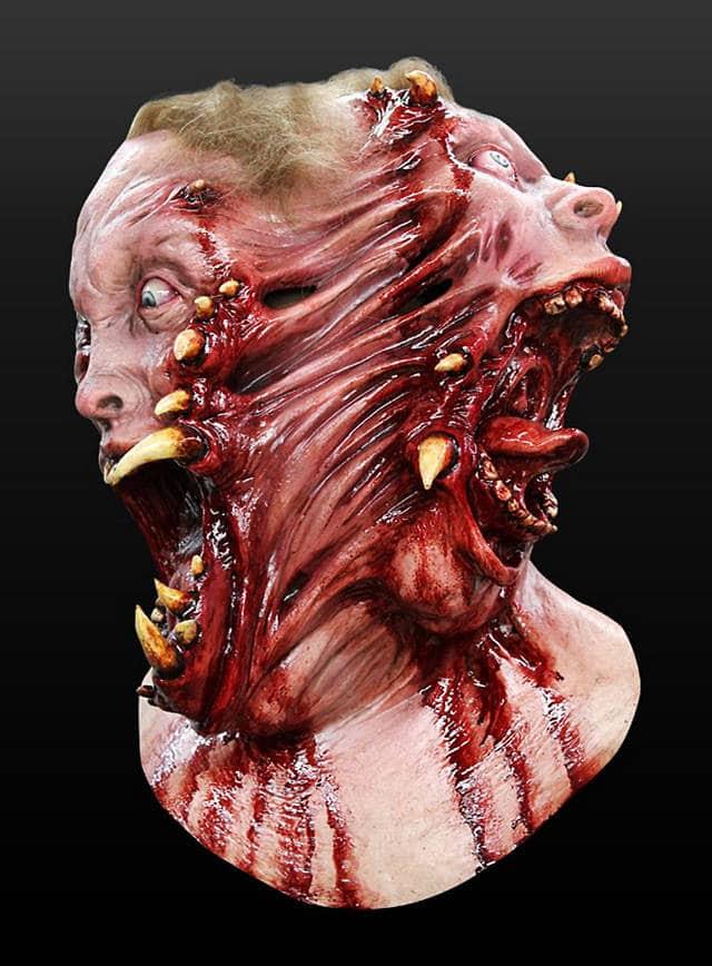 Horrormaske Mutanten Transformation