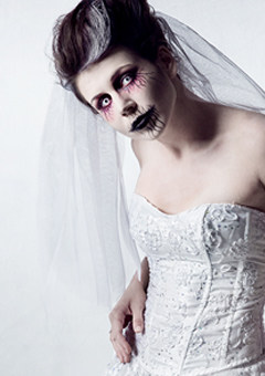 Halloween Make-up selbermachen