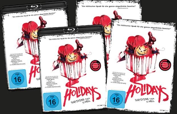 Verlosung Holidays DVD & Blu-ray