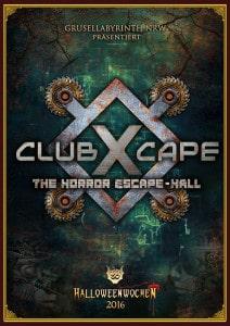 04 ClubXcape Poster mit Rahmen und HW Logo A4 RGB web